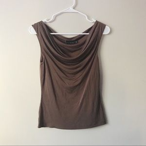 The Limited Tops - The Limited Silk Sleeveless Cowl Neck Top